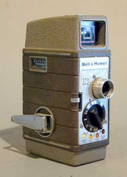 Super eight movie camera